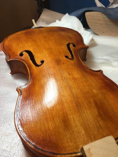 바이올린 수제제작 과정